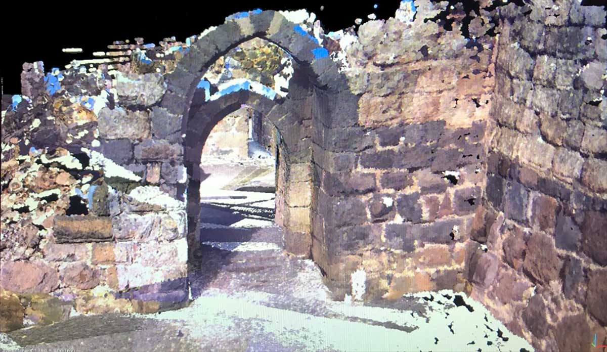 Belvoir fortress stone gate Reality Layer